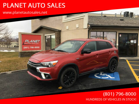 2018 Mitsubishi Outlander Sport for sale at PLANET AUTO SALES in Lindon UT