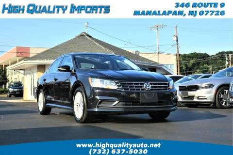 2017 Volkswagen Passat for sale at High Quality Imports in Manalapan NJ