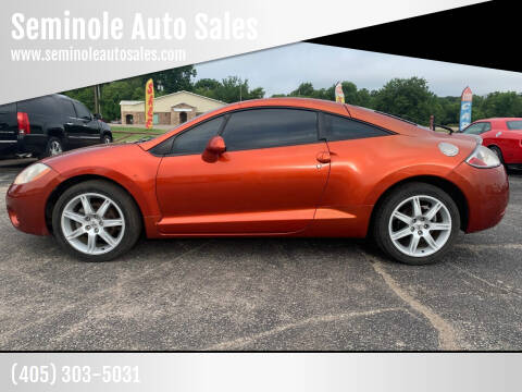 2007 Mitsubishi Eclipse for sale at Seminole Auto Sales in Seminole OK