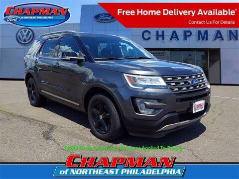2017 Ford Explorer for sale at CHAPMAN FORD NORTHEAST PHILADELPHIA in Philadelphia PA