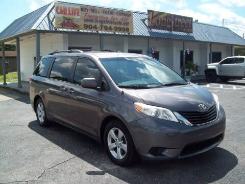 2014 Toyota Sienna for sale at LONGSTREET AUTO in Saint Augustine FL