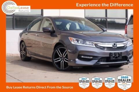 2016 Honda Accord for sale at Dallas Auto Finance in Dallas TX