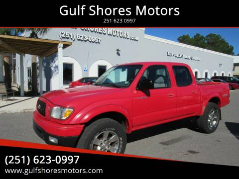 2003 Toyota Tacoma for sale at Gulf Shores Motors in Gulf Shores AL