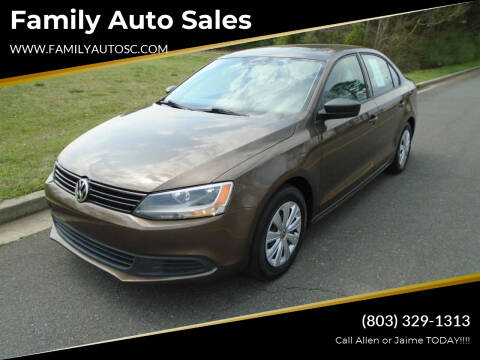 2014 Volkswagen Jetta for sale at Family Auto Sales in Rock Hill SC