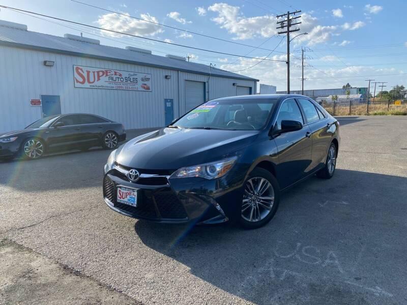 2017 Toyota Camry for sale at SUPER AUTO SALES STOCKTON in Stockton CA