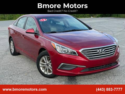 2016 Hyundai Sonata for sale at Bmore Motors in Baltimore MD