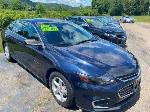 2017 Chevrolet Malibu for sale at Hillside Motors in Campbell NY