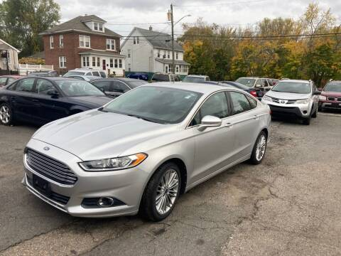 2013 Ford Fusion for sale at ENFIELD STREET AUTO SALES in Enfield CT