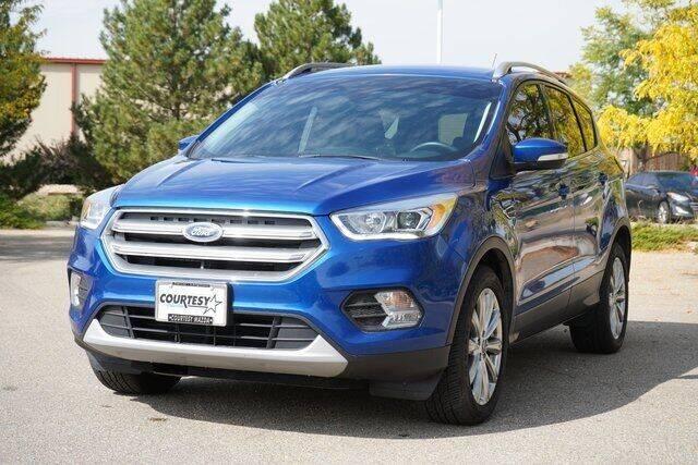 2017 Ford Escape for sale at COURTESY MAZDA in Longmont CO