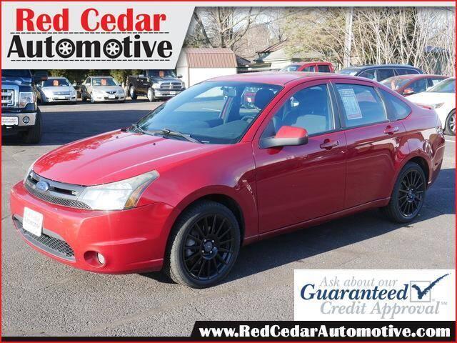 2010 Ford Focus for sale at Red Cedar Automotive in Menomonie WI