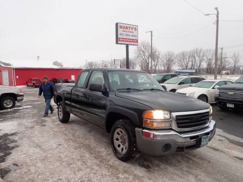 2006 GMC Sierra 1500 for sale at Marty's Auto Sales in Savage MN