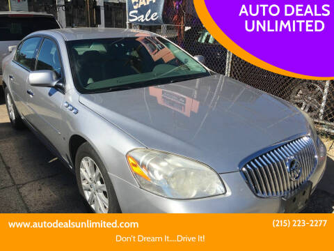 2010 Buick Lucerne for sale at AUTO DEALS UNLIMITED in Philadelphia PA
