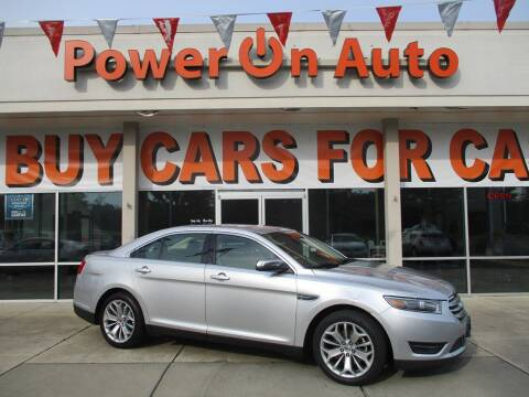 2016 Ford Taurus for sale at Power On Auto LLC in Monroe NC