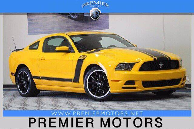 2013 Ford Mustang for sale at Premier Motors in Hayward CA