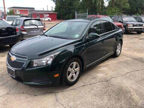 2014 Chevrolet Cruze for sale at Baton Rouge Auto Sales in Baton Rouge LA