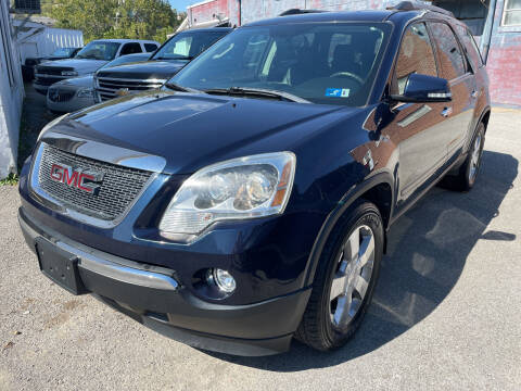 2012 GMC Acadia for sale at Turner's Inc - Main Avenue Lot in Weston WV
