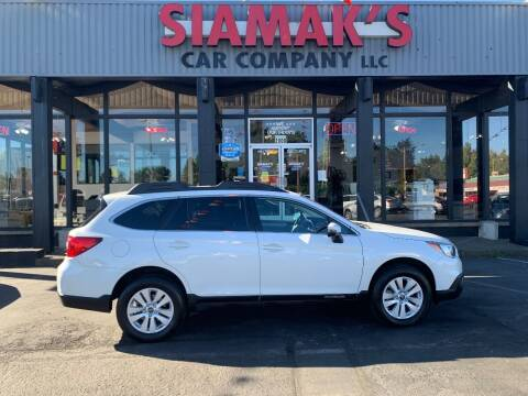 2017 Subaru Outback for sale at Siamak's Car Company llc in Salem OR