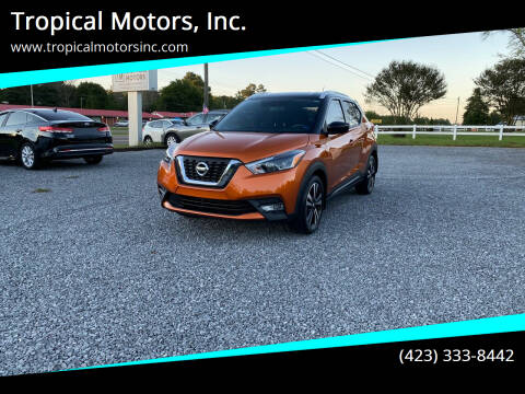 2018 Nissan Kicks for sale at Tropical Motors, Inc. in Riceville TN