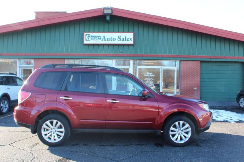2011 Subaru Forester for sale at Gentry Auto Sales in Portage MI