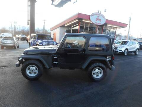 1999 Jeep Wrangler for sale at The Carriage Company in Lancaster OH