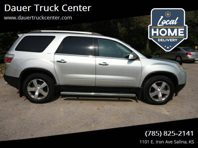2012 GMC Acadia for sale at Dauer Truck Center in Salina KS