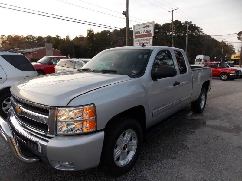 2012 Chevrolet Silverado 1500 for sale at Deer Park Auto Sales Corp in Newport News VA