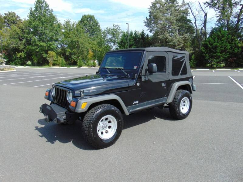 2005 Jeep Wrangler for sale at CR Garland Auto Sales in Fredericksburg VA