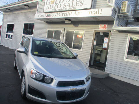 2016 Chevrolet Sonic for sale at Gold Star Auto Sales in Johnston RI