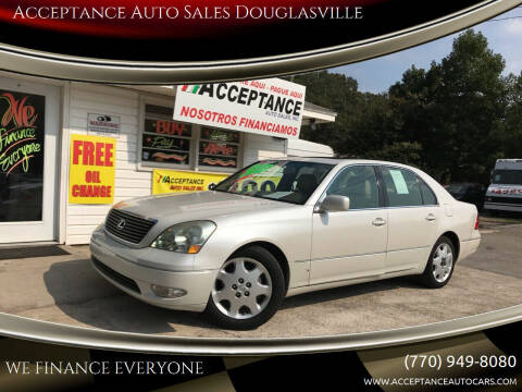 2001 Lexus LS 430 for sale at Acceptance Auto Sales Douglasville in Douglasville GA