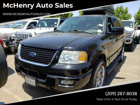 2006 Ford Expedition for sale at McHenry Auto Sales in Modesto CA