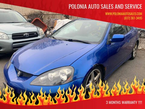 2005 Acura RSX for sale at Polonia Auto Sales and Service in Hyde Park MA