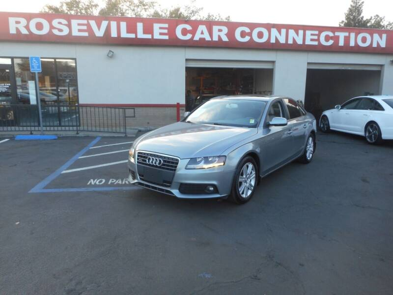 2010 Audi A4 for sale at ROSEVILLE CAR CONNECTION in Roseville CA