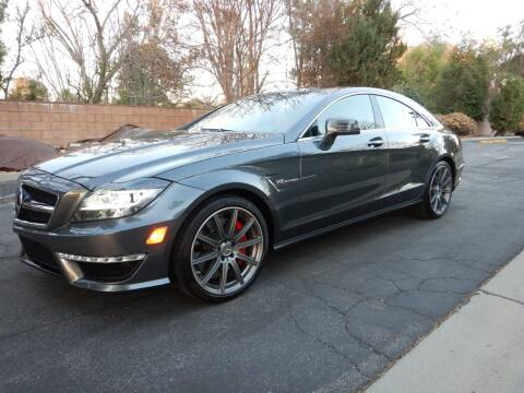 2014 Mercedes-Benz CLS for sale at California Cadillac & Collectibles in Los Angeles CA