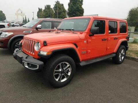 2019 Jeep Wrangler Unlimited for sale at Karmart in Burlington WA