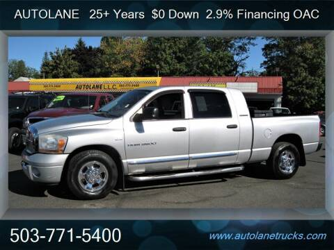 2006 Dodge Ram Pickup 3500 for sale at Auto Lane in Portland OR