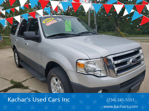 2014 Ford Expedition for sale at Kachar's Used Cars Inc in Monroe MI