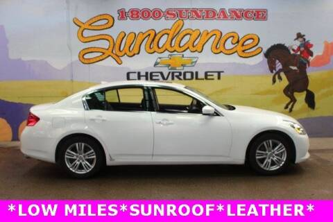2011 Infiniti G25 Sedan for sale at Sundance Chevrolet in Grand Ledge MI