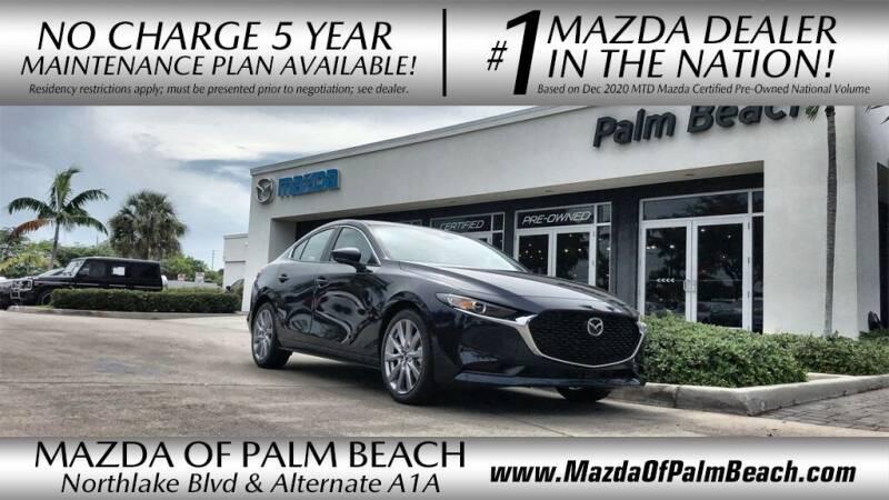 2021 Mazda Mazda3 Sedan for sale in North Palm Beach, FL