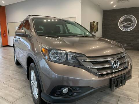 2012 Honda CR-V for sale at Evolution Autos in Whiteland IN