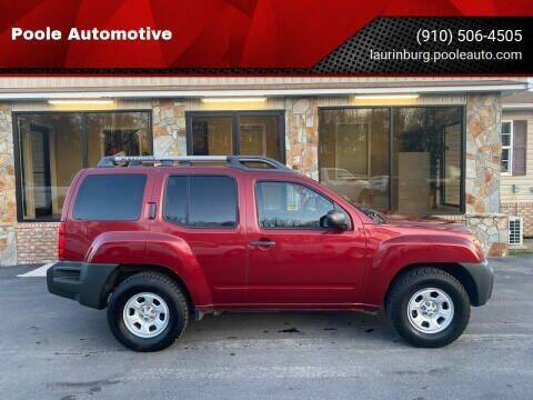 2014 Nissan Xterra for sale at Poole Automotive in Laurinburg NC