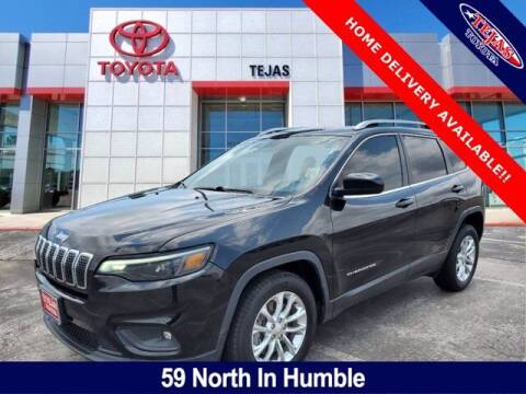 2019 Jeep Cherokee for sale at TEJAS TOYOTA in Humble TX