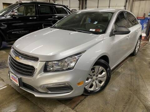 2016 Chevrolet Cruze Limited for sale at Sonias Auto Sales in Worcester MA