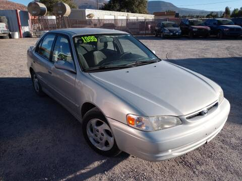 1999 Toyota Corolla for sale at Canyon View Auto Sales in Cedar City UT