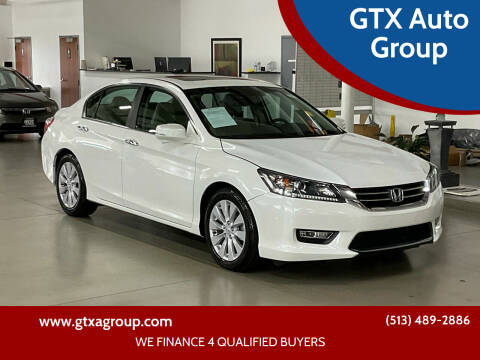 2013 Honda Accord for sale at GTX Auto Group in West Chester OH