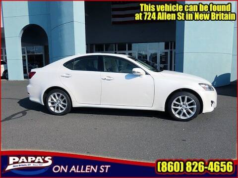 2011 Lexus IS 250 for sale at Papas Chrysler Dodge Jeep Ram in New Britain CT