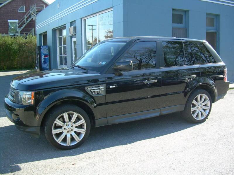 2011 Land Rover Range Rover Sport for sale at Kars on King Auto Center in Lancaster PA