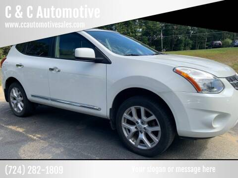 2011 Nissan Rogue for sale at C & C Automotive in Chicora PA