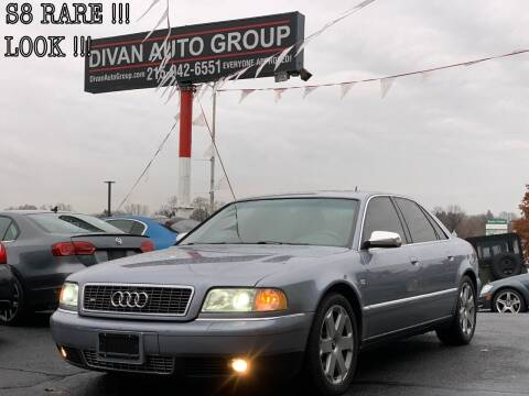 2003 Audi S8 for sale at Divan Auto Group in Feasterville Trevose PA