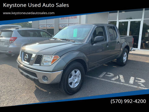 2005 Nissan Frontier for sale at Keystone Used Auto Sales in Brodheadsville PA