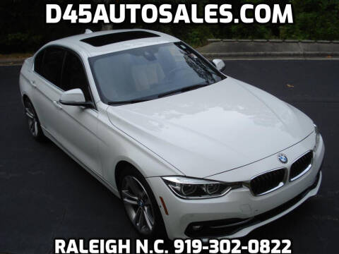2017 BMW 3 Series for sale at D45 Auto Brokers in Raleigh NC